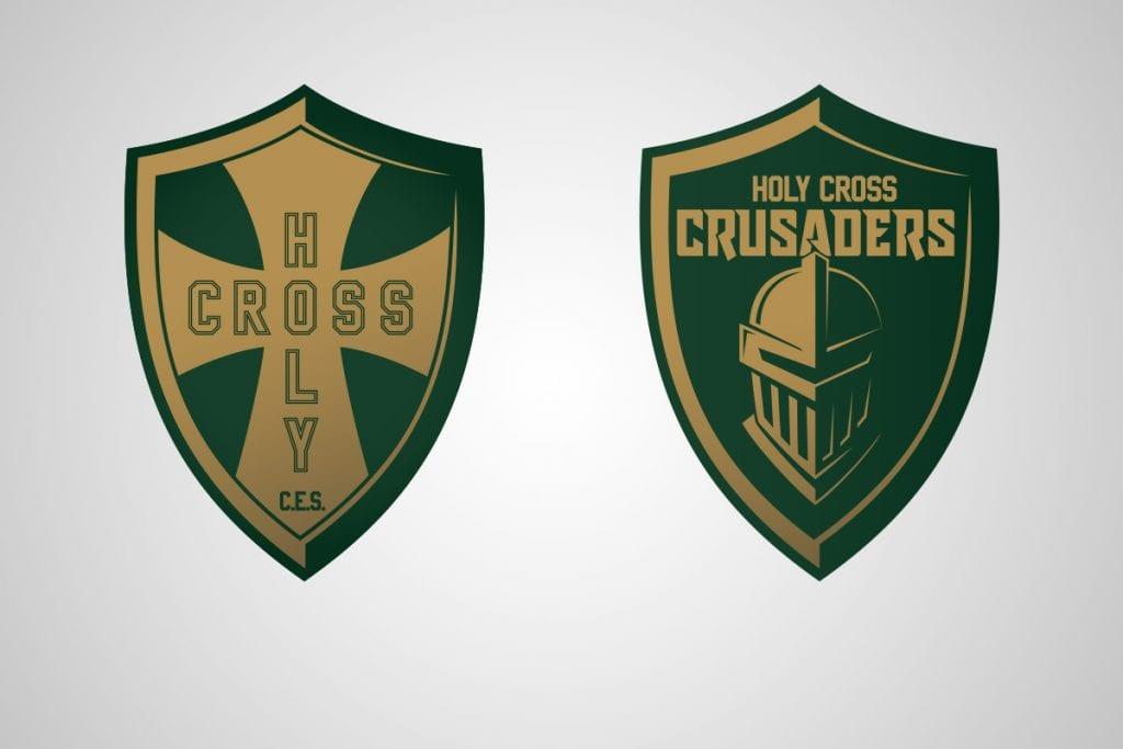 Holy Cross School Has a New Logo!