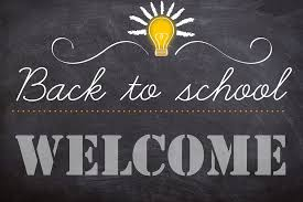 First Day of School All Students Gr 1-8