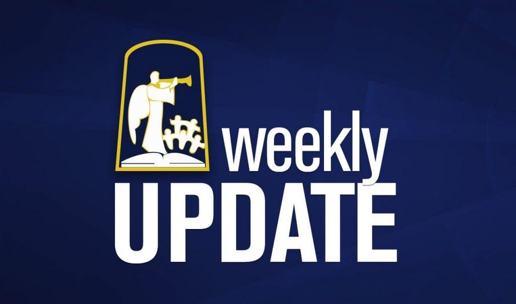 Weekly Update – September 9-13