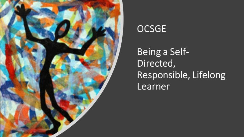 OSGE May:  A Self-Directed, Responsible, Lifelong Learner