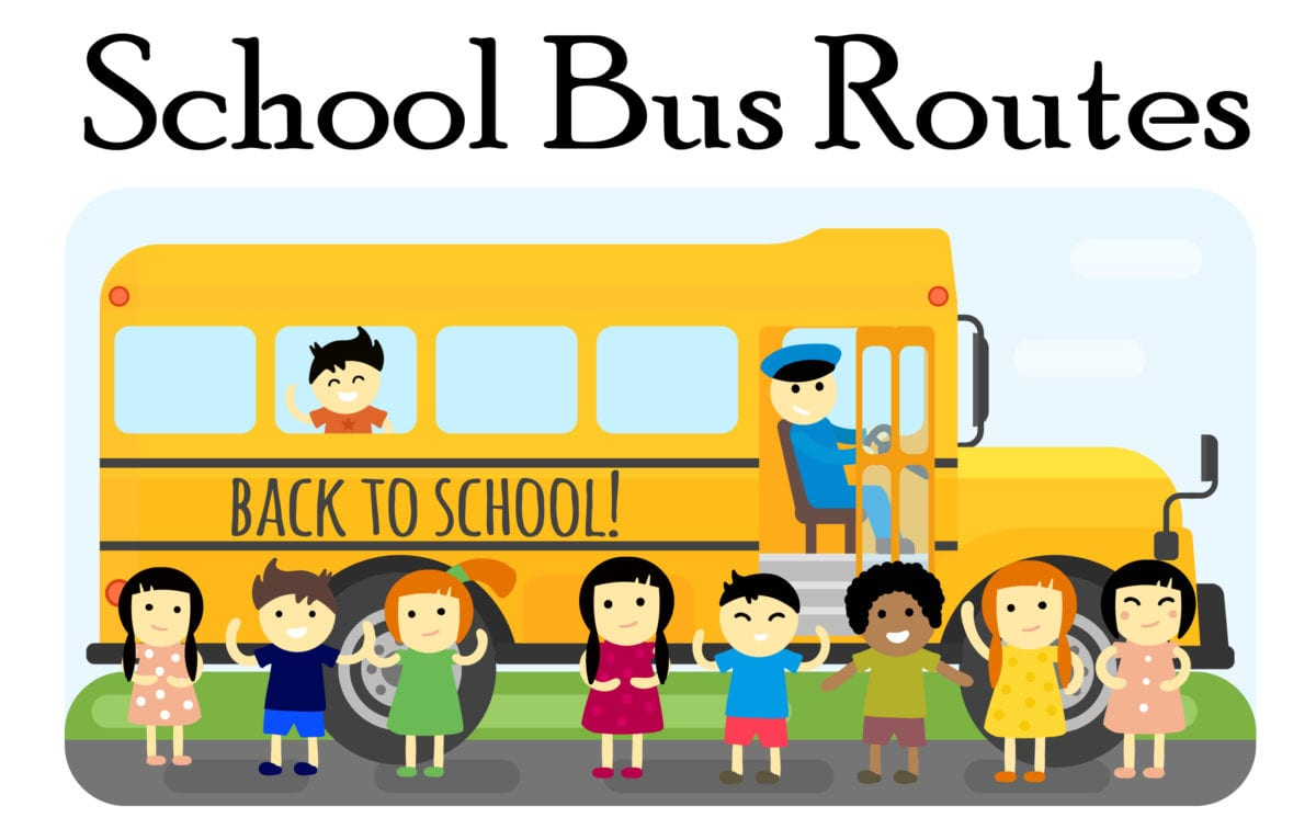 New Bus Stop for routes 204 am and 128 pm