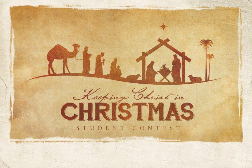 Keeping Christ in Christmas Student Contest | St. Joseph Catholic ...