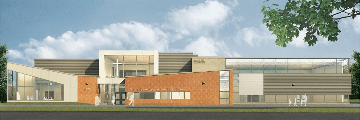 Our New St.NicholasSchool Building Will Be Ready for January!