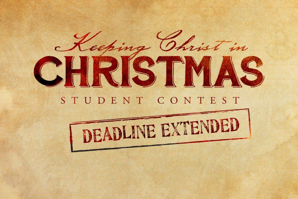Keeping Christ in Christmas – Deadline Extended! | St. Paul Catholic ...