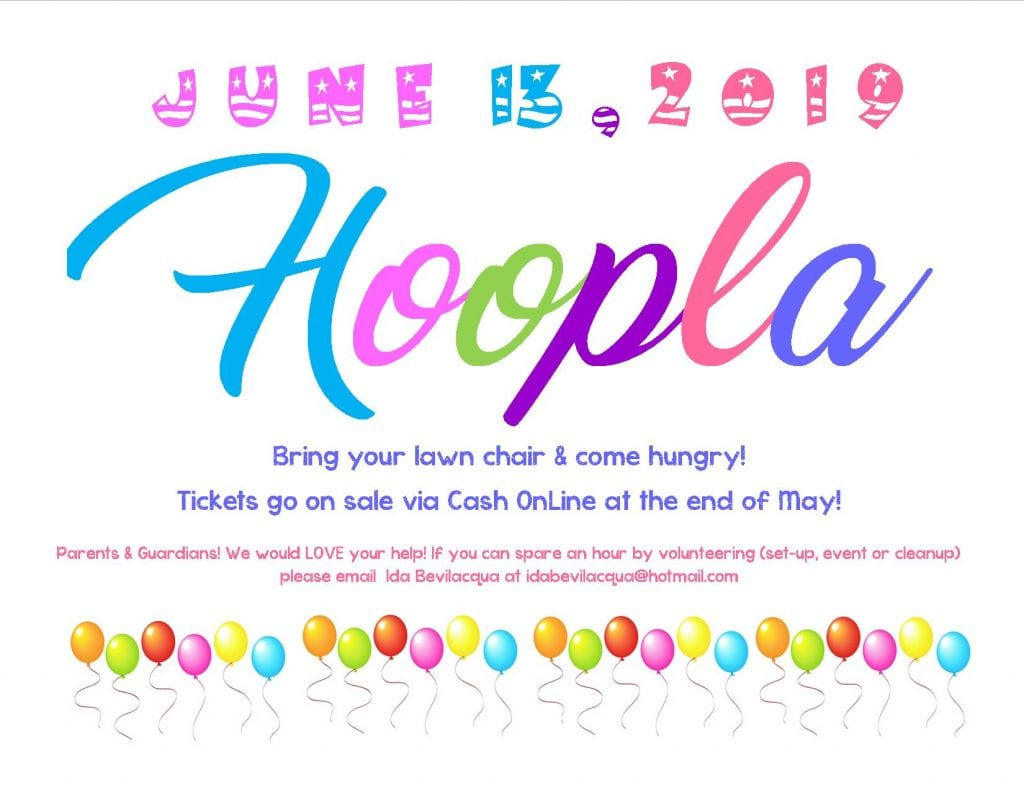 Join Us For Our Annual HOOPLA Celebration!